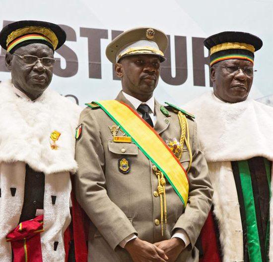 Le président investi, son discours chargé de promesses