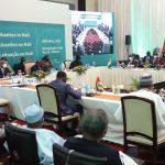 Le président Assimi Goïta rencontre les délégués de la CEDEAO